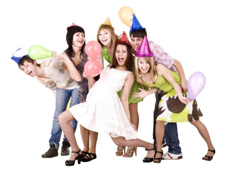 Веселые конкурсы для веселой компании подростков в помещении