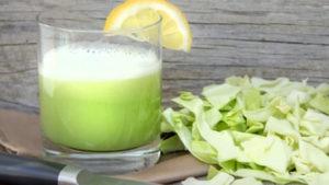 Капустный сок помогает излечению болезней