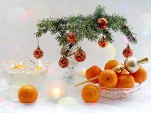 оранжевое чудо - мандарин.