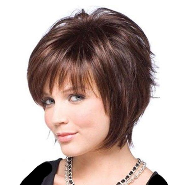 Модельная стрижка женская на средние волосы