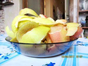 Печенье с яблочной кожурой.