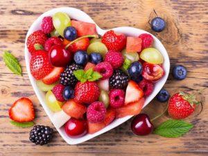 Ягоды из сада и леса - лучшее лекарство для сердца.