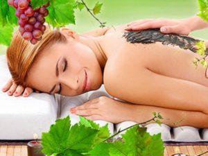 Уход за внешностью - домашняя виноградная косметика.